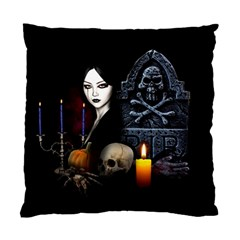 Vampires Night  Standard Cushion Case (one Side) by Valentinaart