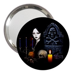 Vampires Night  3  Handbag Mirrors by Valentinaart