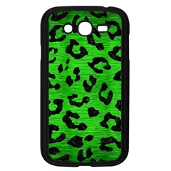 Skin5 Black Marble & Green Brushed Metal Samsung Galaxy Grand Duos I9082 Case (black) by trendistuff