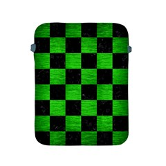 Square1 Black Marble & Green Brushed Metal Apple Ipad 2/3/4 Protective Soft Cases by trendistuff