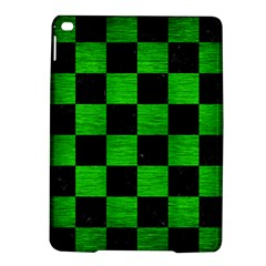 Square1 Black Marble & Green Brushed Metal Ipad Air 2 Hardshell Cases by trendistuff