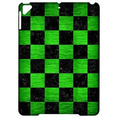 Square1 Black Marble & Green Brushed Metal Apple Ipad Pro 9 7   Hardshell Case by trendistuff