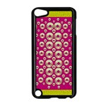 Going Gold Or Metal On Fern Pop Art Apple iPod Touch 5 Case (Black) Front