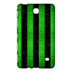 Stripes1 Black Marble & Green Brushed Metal Samsung Galaxy Tab 4 (8 ) Hardshell Case  by trendistuff
