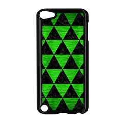 Triangle3 Black Marble & Green Brushed Metal Apple Ipod Touch 5 Case (black)