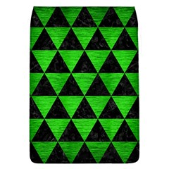 Triangle3 Black Marble & Green Brushed Metal Flap Covers (l)  by trendistuff