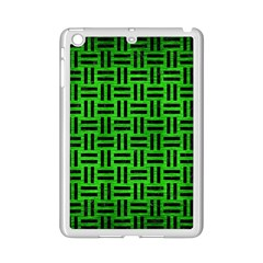 Woven1 Black Marble & Green Brushed Metal (r) Ipad Mini 2 Enamel Coated Cases by trendistuff