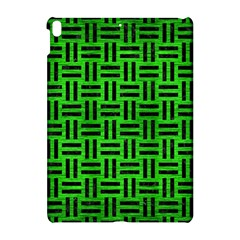 Woven1 Black Marble & Green Brushed Metal (r) Apple Ipad Pro 10 5   Hardshell Case by trendistuff