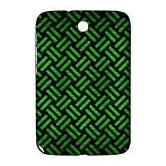 Woven2 Black Marble & Green Brushed Metal Samsung Galaxy Note 8 0 N5100 Hardshell Case  by trendistuff