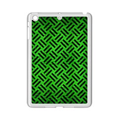Woven2 Black Marble & Green Brushed Metal (r) Ipad Mini 2 Enamel Coated Cases by trendistuff