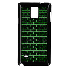 Brick1 Black Marble & Green Colored Pencil Samsung Galaxy Note 4 Case (black) by trendistuff