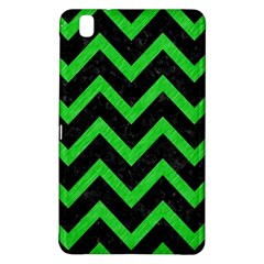 Chevron9 Black Marble & Green Colored Pencil Samsung Galaxy Tab Pro 8 4 Hardshell Case by trendistuff