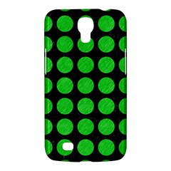 Circles1 Black Marble & Green Colored Pencil Samsung Galaxy Mega 6 3  I9200 Hardshell Case by trendistuff