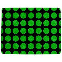 Circles1 Black Marble & Green Colored Pencil Jigsaw Puzzle Photo Stand (rectangular) by trendistuff