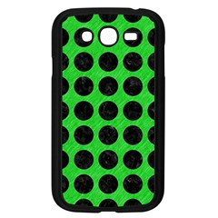 Circles1 Black Marble & Green Colored Pencil (r) Samsung Galaxy Grand Duos I9082 Case (black) by trendistuff
