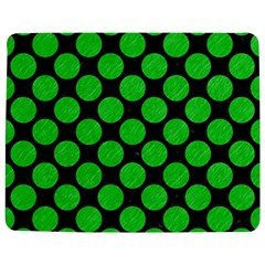 Circles2 Black Marble & Green Colored Pencil Jigsaw Puzzle Photo Stand (rectangular) by trendistuff