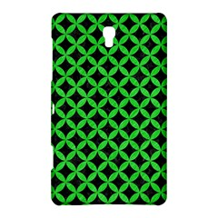 Circles3 Black Marble & Green Colored Pencil Samsung Galaxy Tab S (8 4 ) Hardshell Case  by trendistuff
