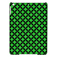 Circles3 Black Marble & Green Colored Pencil (r) Ipad Air Hardshell Cases by trendistuff