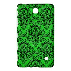 Damask1 Black Marble & Green Colored Pencil (r) Samsung Galaxy Tab 4 (8 ) Hardshell Case  by trendistuff