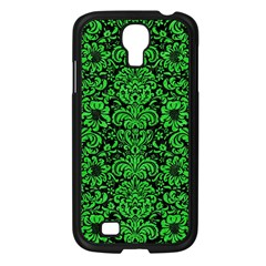 Damask2 Black Marble & Green Colored Pencil Samsung Galaxy S4 I9500/ I9505 Case (black)