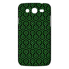Hexagon1 Black Marble & Green Colored Pencil Samsung Galaxy Mega 5 8 I9152 Hardshell Case  by trendistuff