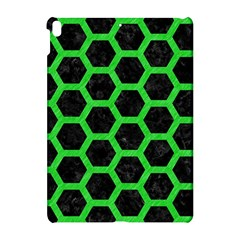 Hexagon2 Black Marble & Green Colored Pencil Apple Ipad Pro 10 5   Hardshell Case