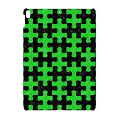 Puzzle1 Black Marble & Green Colored Pencil Apple Ipad Pro 10 5   Hardshell Case