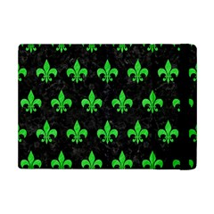 Royal1 Black Marble & Green Colored Pencil (r) Ipad Mini 2 Flip Cases by trendistuff