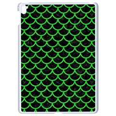 Scales1 Black Marble & Green Colored Pencil Apple Ipad Pro 9 7   White Seamless Case by trendistuff