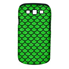 Scales1 Black Marble & Green Colored Pencil (r) Samsung Galaxy S Iii Classic Hardshell Case (pc+silicone)