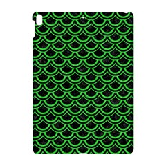 Scales2 Black Marble & Green Colored Pencil Apple Ipad Pro 10 5   Hardshell Case by trendistuff