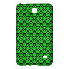 Scales2 Black Marble & Green Colored Pencil (r) Samsung Galaxy Tab 4 (7 ) Hardshell Case  by trendistuff