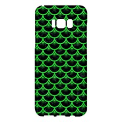 Scales3 Black Marble & Green Colored Pencil Samsung Galaxy S8 Plus Hardshell Case  by trendistuff