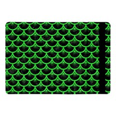 Scales3 Black Marble & Green Colored Pencil Apple Ipad Pro 10 5   Flip Case
