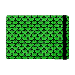 Scales3 Black Marble & Green Colored Pencil (r) Apple Ipad Mini Flip Case by trendistuff