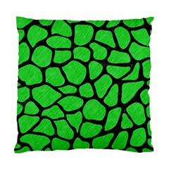 Skin1 Black Marble & Green Colored Pencil Standard Cushion Case (two Sides) by trendistuff