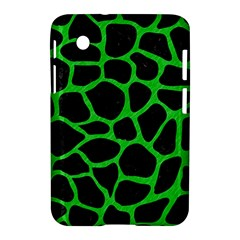 Skin1 Black Marble & Green Colored Pencil (r) Samsung Galaxy Tab 2 (7 ) P3100 Hardshell Case  by trendistuff
