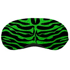 Skin2 Black Marble & Green Colored Pencil Sleeping Masks by trendistuff
