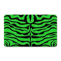 Skin2 Black Marble & Green Colored Pencil (r) Magnet (rectangular) by trendistuff