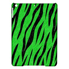 Skin3 Black Marble & Green Colored Pencil (r) Ipad Air Hardshell Cases