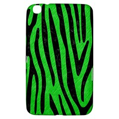 Skin4 Black Marble & Green Colored Pencil Samsung Galaxy Tab 3 (8 ) T3100 Hardshell Case  by trendistuff