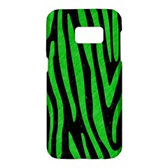 Skin4 Black Marble & Green Colored Pencil (r) Samsung Galaxy S7 Hardshell Case  by trendistuff