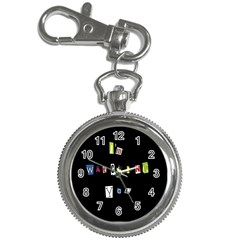 I Am Watching You Key Chain Watches by Valentinaart
