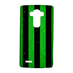 Stripes1 Black Marble & Green Colored Pencil Lg G4 Hardshell Case by trendistuff