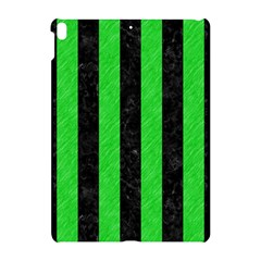 Stripes1 Black Marble & Green Colored Pencil Apple Ipad Pro 10 5   Hardshell Case by trendistuff