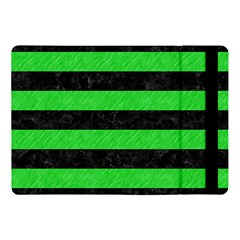 Stripes2 Black Marble & Green Colored Pencil Apple Ipad Pro 10 5   Flip Case by trendistuff