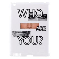 Who Are You Apple Ipad 3/4 Hardshell Case (compatible With Smart Cover)