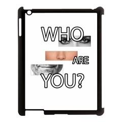 Who Are You Apple Ipad 3/4 Case (black)