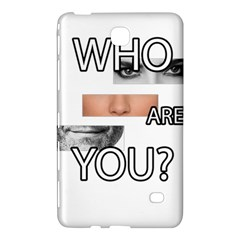 Who Are You Samsung Galaxy Tab 4 (7 ) Hardshell Case  by Valentinaart