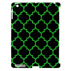 Tile1 Black Marble & Green Colored Pencil Apple Ipad 3/4 Hardshell Case (compatible With Smart Cover) by trendistuff